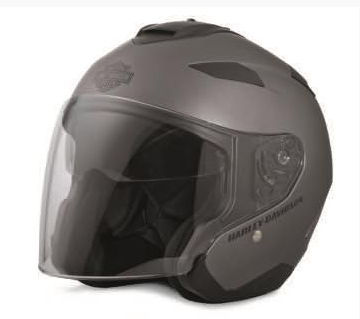 Grey Maywood Interchangeble Sun Shield H27 3/4 Helmet 98346-17ex