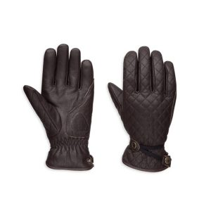 WOMEN'S MESSENGER LEATHER GLOVES - 98368-17EW
