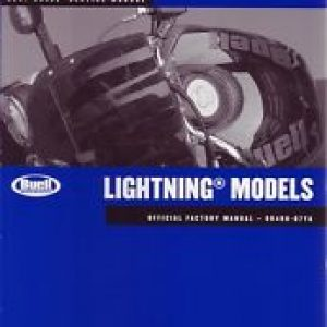 2007 BUELL LIGHTNING SERVICE MANUAL 99490-07YA