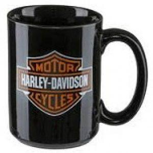 HARLEY-DAVIDSON BAR&SHIELD LOGO COFFEE MUG Black HDX-98605