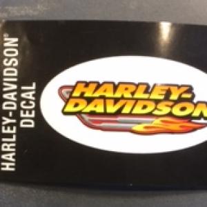 HARLEY-DAVIDSON DECAL 10X4.5 CM D233382