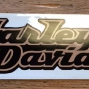 Harley-Davidson Decal 29 x 6.5 cm D313687