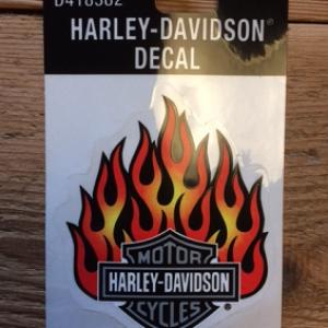 HARLEY-DAVIDSON DECAL 10X8.5 CM D418382
