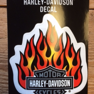 HARLEY-DAVIDSON DECAL 14X11.5 CM D418383