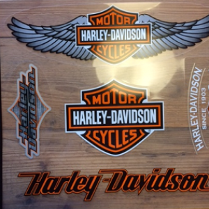Harley-Davidson Window Clings DW096719