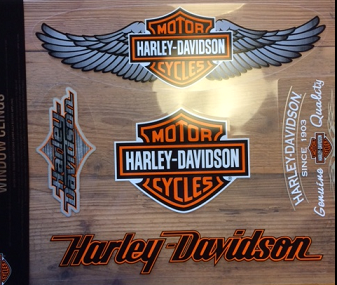 Harley-Davidson Window Clings DW096719