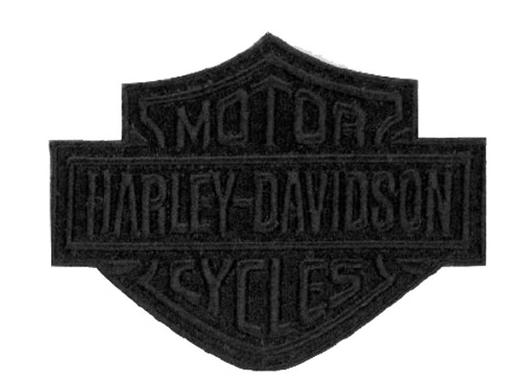 Black Bar & Shield Emblem Patch 10 X 7.5 CM EM302302