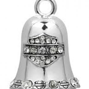 WHITE CRYSTAL B&S RIDE BELL HRB016