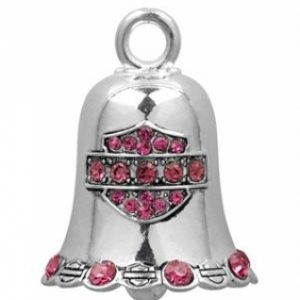 PINK CRYSTAL B&S RIDE BELL HRB019