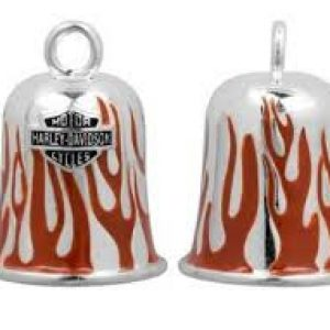 RED FLAMES RIDE BELL HRB030