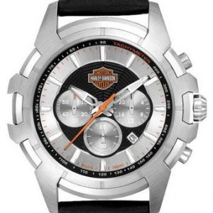 MEN'S HARLEY-DAVIDSON BULOVA SPIDER WRIST WATCH 76B161