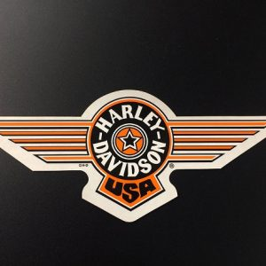 HARLEY-DAVIDSON DECAL OUT FATBOY D74350