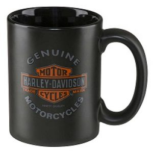 HD CORE GENUINE MOTORCYCLES COFFE MUG, 15 oz. - BLACK  HDX-98606
