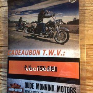HARLEY-DAVIDSON OUDE MONNINK MOTORS GIFTCARD KB01