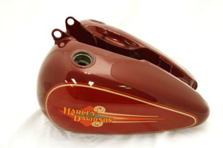 Fuel tank FLSTC RED