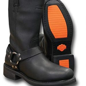 MEN'S HARLEY-DAVIDSON WATERPROOF HUSTIN CE BOOTS BLACK D97007