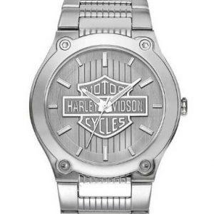 MEN'S HARLEY-DAVIDSON BULOVA BAR&SHIELD WRIST WATCH 76A134