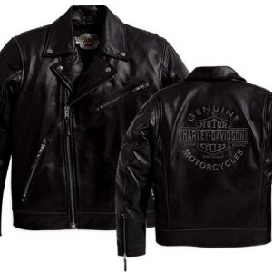 MEN'S LEATHER JACKET FREEDOM RIDER 98011-10VM