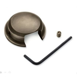 Brass Swingarm Pivot Bolt Cover, 61400517