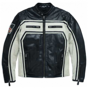 MEN'S JACKET LEATHER ENDURANCE  98124-17EM