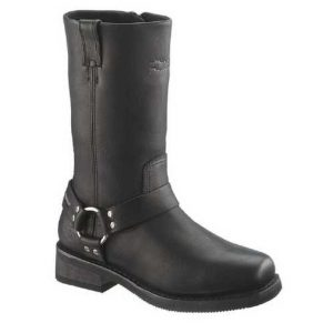 MEN'S HUSTIN WATERPROOF RIDING BOOT, BLACK  D95353