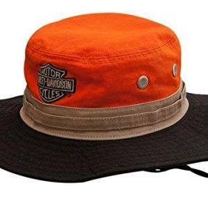 MEN'S COLORBLOCKES HD BOONIE COTTON TWILL HAT HD-476