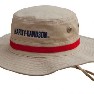 MEN'S BOONIE COTTON TWILL HAT, KHAKI HD-477