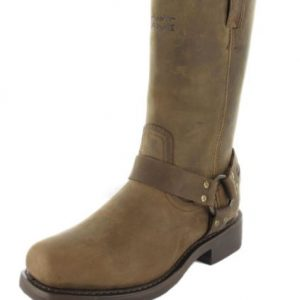 MEN'S HUSTIN WATERPROOF RIDING BOOT, BROWN  D97153