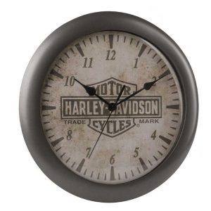 HARLEY-DAVIDSON TRADEMARK B&S LOGO CLOCK 11 INCH HDX-99105