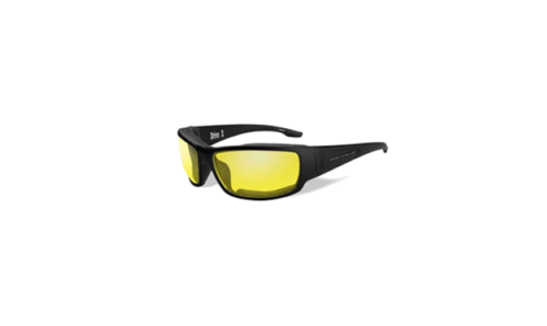 Harley-Davidson Mens Drive2 Sunglasses Yellow Lens//Matte Black Frame HADRI11